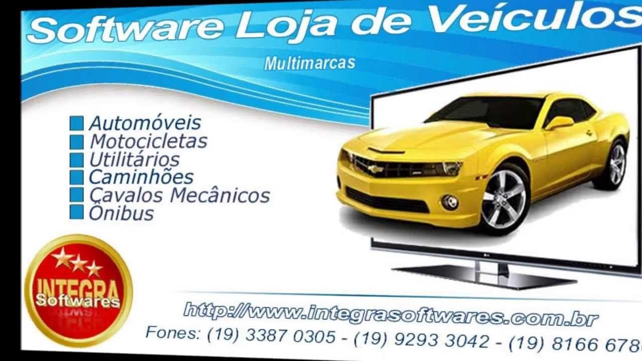 software compra e venda de automóveis veículos carros