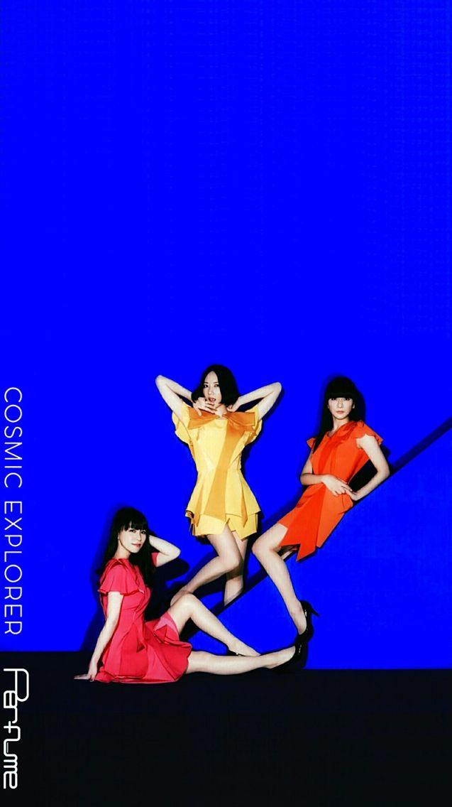 perfume3人衣装が可愛い壁紙