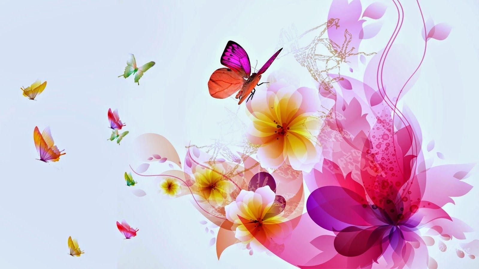 hd cute pink butterfly - photo #38