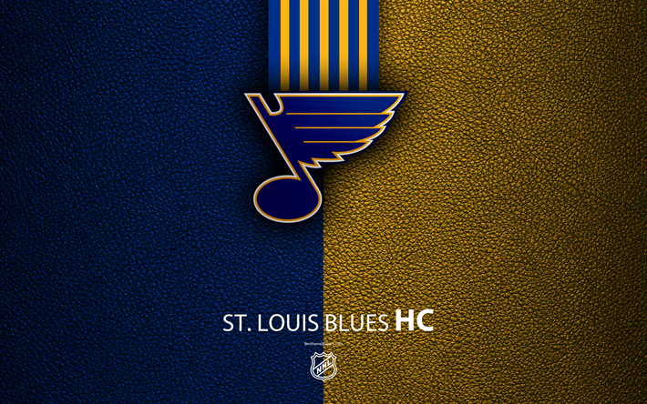 Download Wallpapers St Louis Blues Hc 4k Hockey Team Nhl