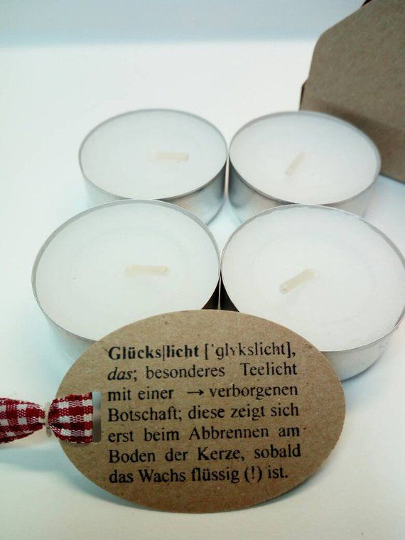 Light Tea candle with Embassy Confirmation Baptism Communion Confirmation