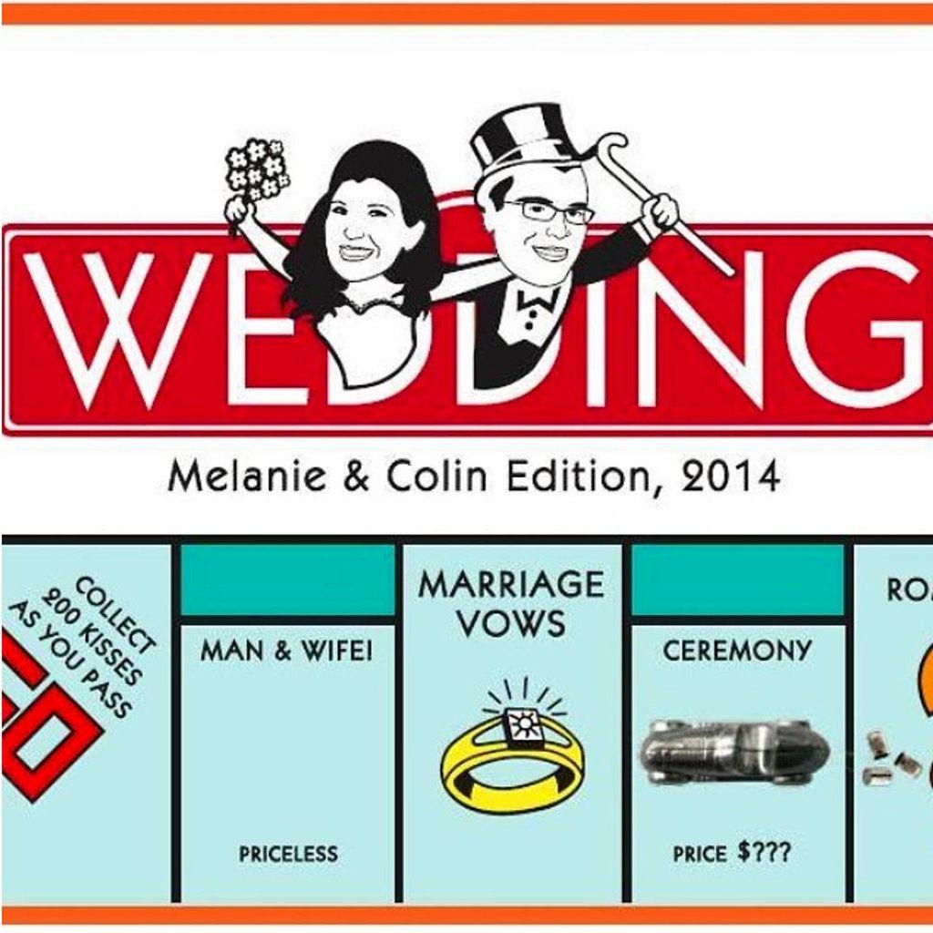 Your Wedding Invitations | Monopoly, Wedding and Weddings