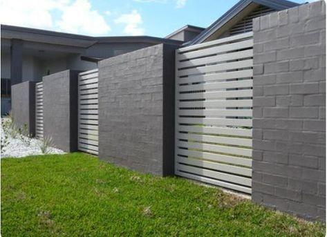 27+ Best Inspiring White Aluminium Zaun Ideen und Designs - Wohn Design #zaunideen