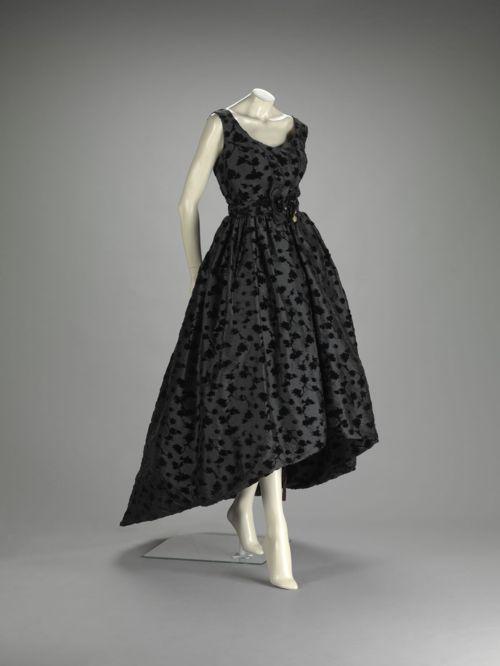 vintage cristobal balenciaga, 1958 | vestidos fiesta | pinterest