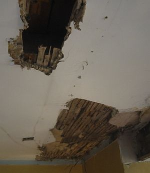 Take Down Lath And Plaster Ceilings