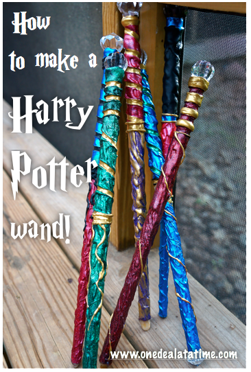 how to make a harry potter wand diy costume ideas pinterest diy projekte karneval und hexen. Black Bedroom Furniture Sets. Home Design Ideas