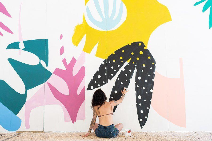 Ashley Mary Ashleymaryart Instagram Photos And Videos Mural Zama Art