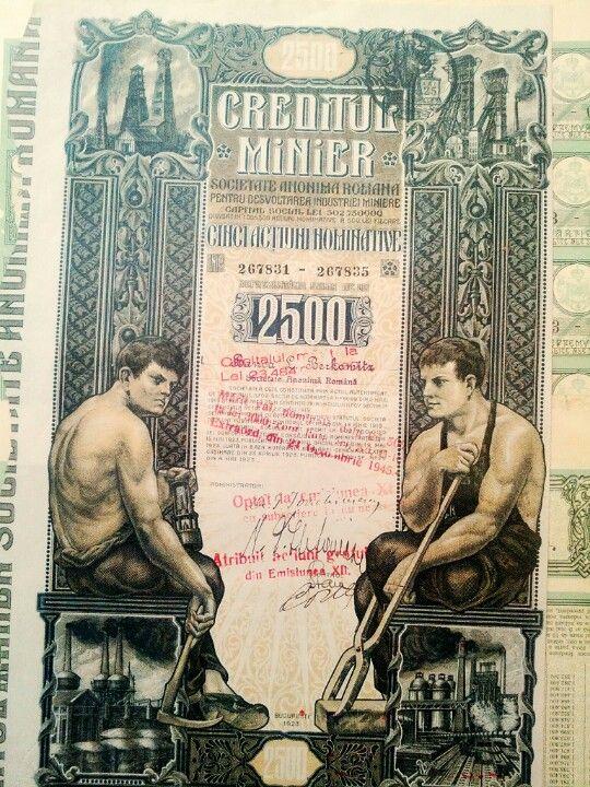 Creditul Minier A Fost O Soc Petroliera Infiintata In 1919Detinuta De Banca Romaneasca Avea