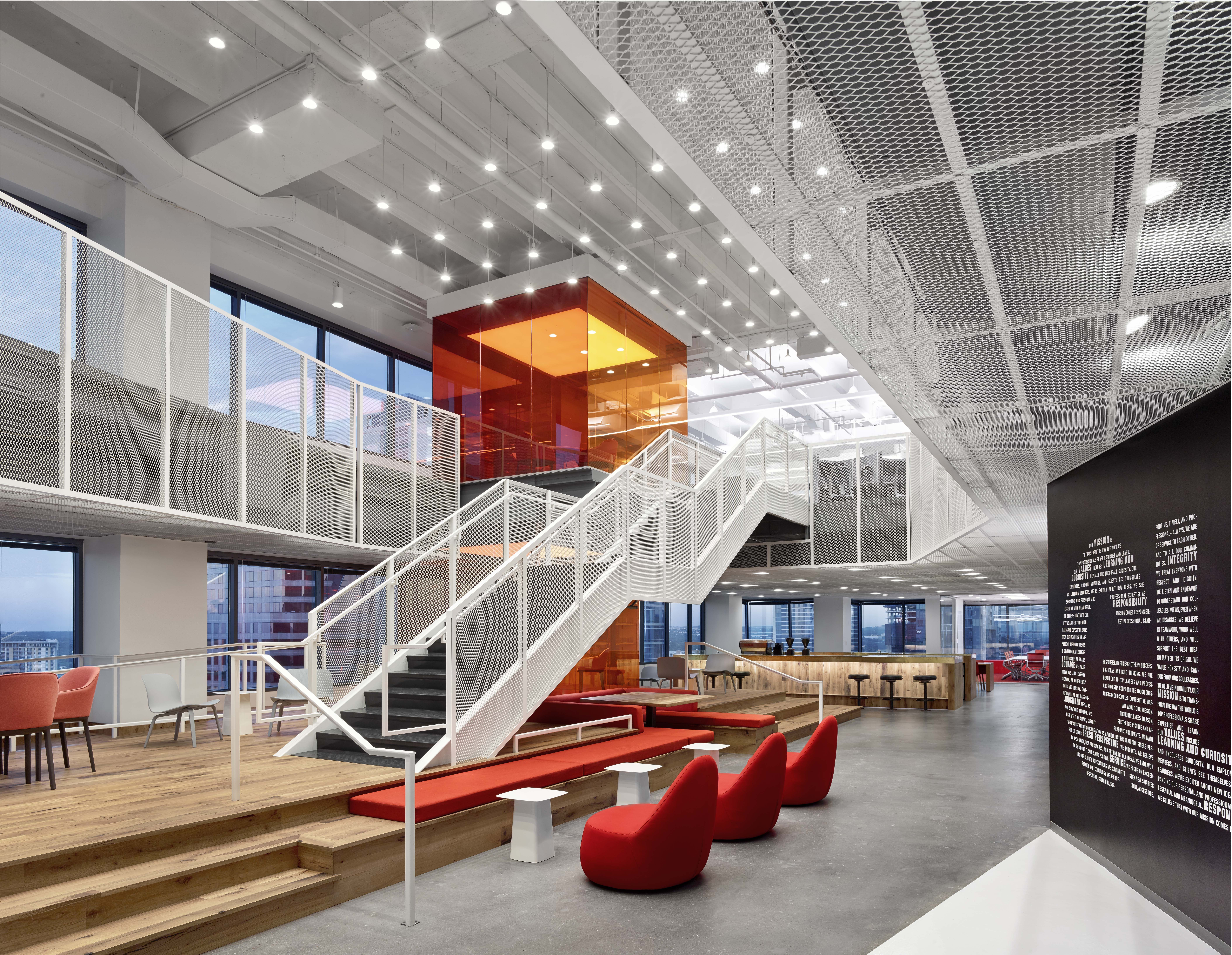 Googleplex Architect Designs New Downtown Austin Office Space Creative Office Furniture Cool Office Space Architect Design