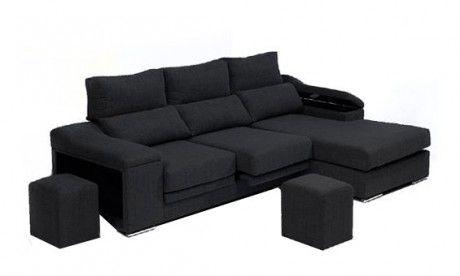 Sofá con asientos deslizantes cabezales sofa