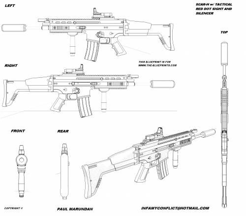 Scar h blueprint google search guns references for My blueprint arkansas