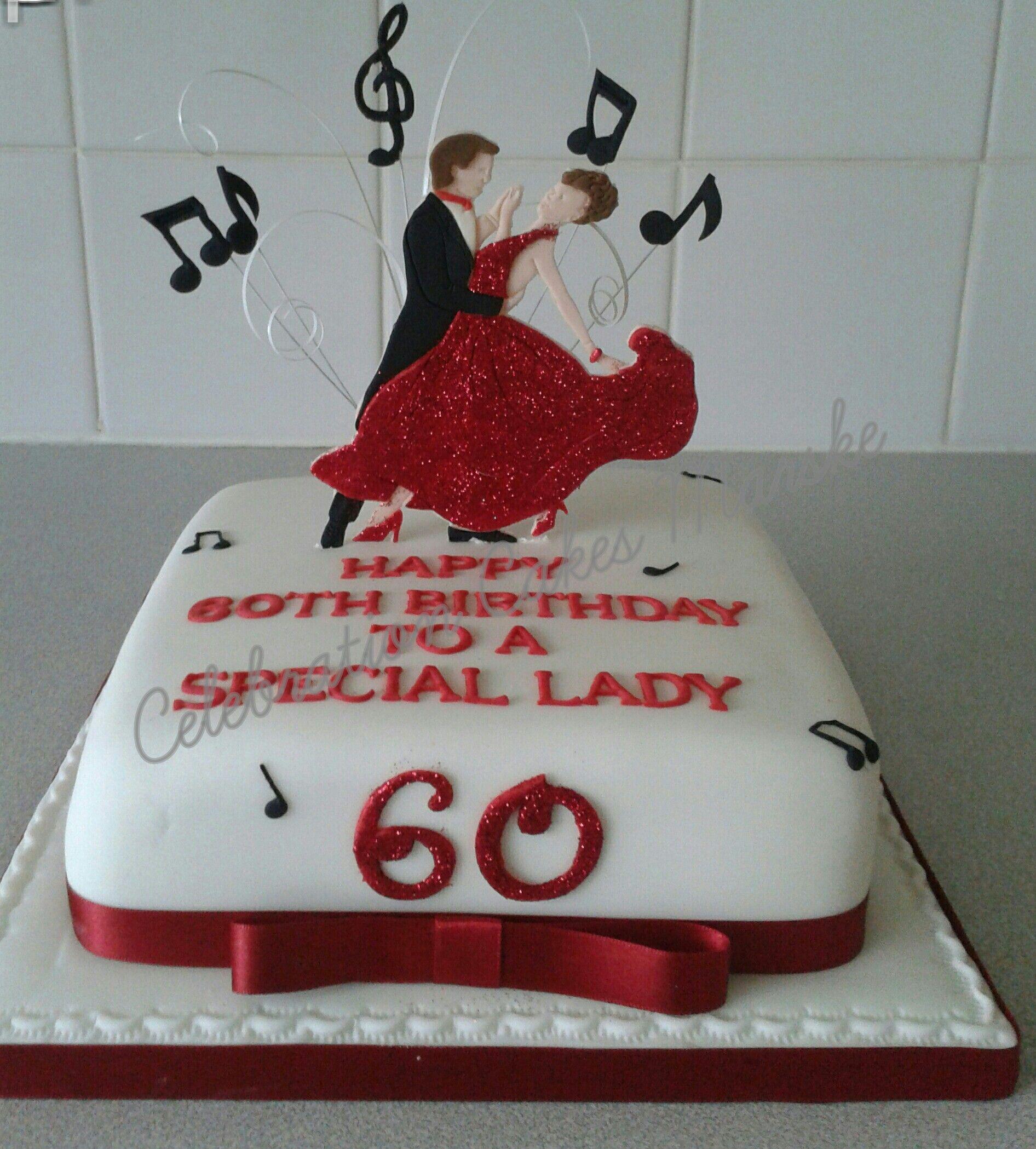 Ballroom dancing cakewwwcelebrationcakesmarskecouk