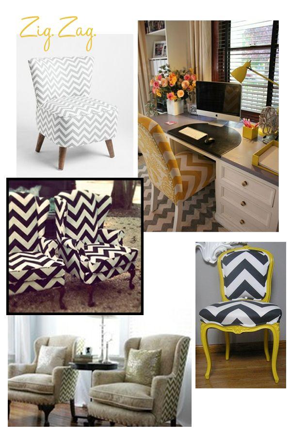 Delicieux Chevron Pattern Decor Interior Design Chevron Patterns And Interiors