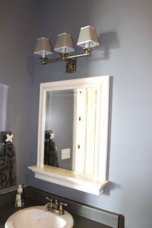 Mirror and light fixture shades | Amy's Casablanca: June 2011