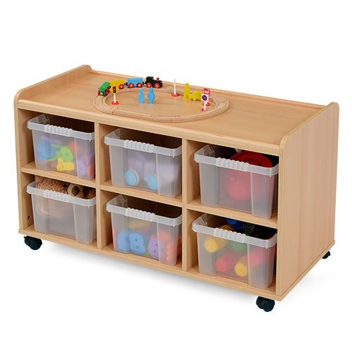 Low Level Storage Unit 6 Tubs - Designed to meet the demands of the classroom  sc 1 st  Pinterest & Low Level Storage Unit 6 Tubs - Designed to meet the demands of the ...
