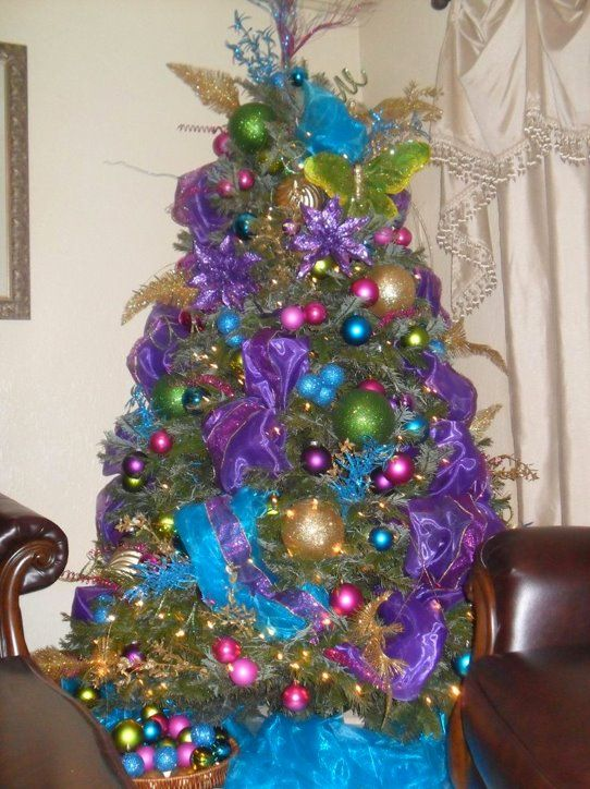 Peacock tree Christmas decor/party ideas Pinterest Christmas