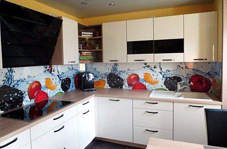 Eck-Rückwand Küche Pinterest - rückwand für küche