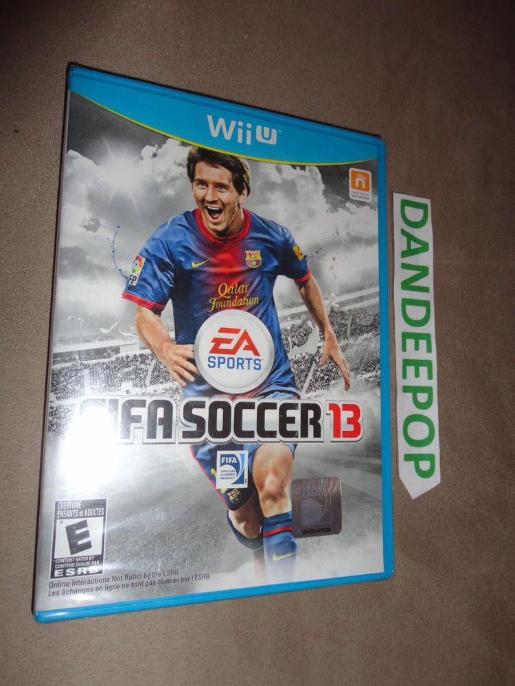 FIFA Soccer 13 Nintendo Wii U Video Game EA Sports Sealed