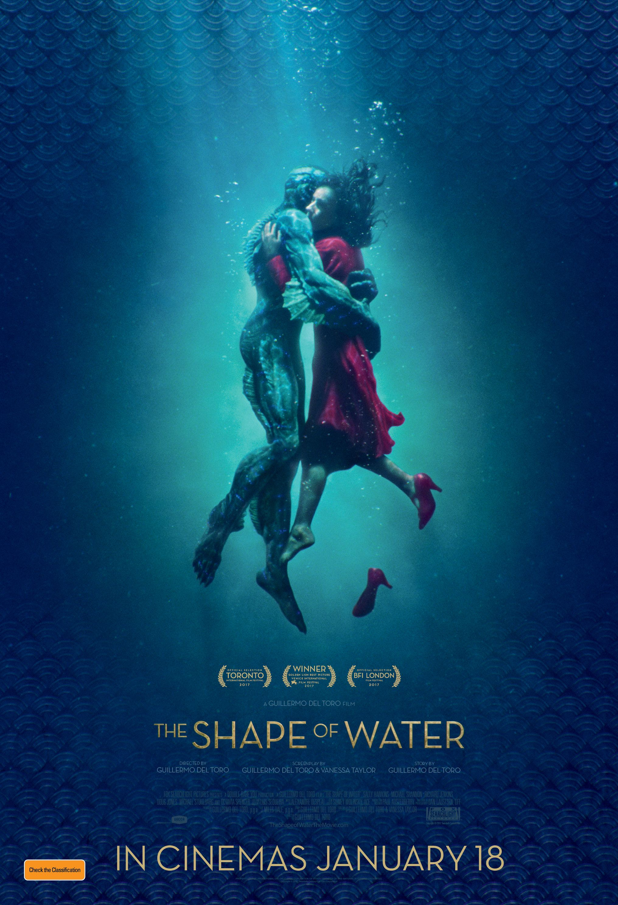 The Shape Of Water Poster Art Water Movie The Shape Of Water Movies Online