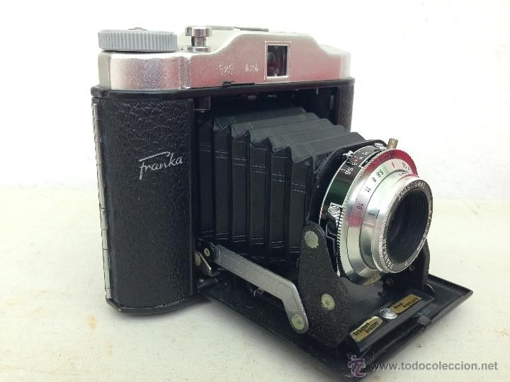 C maras de fotos de fuelle marca franka 1940 c maras - Camaras fotos antiguas ...