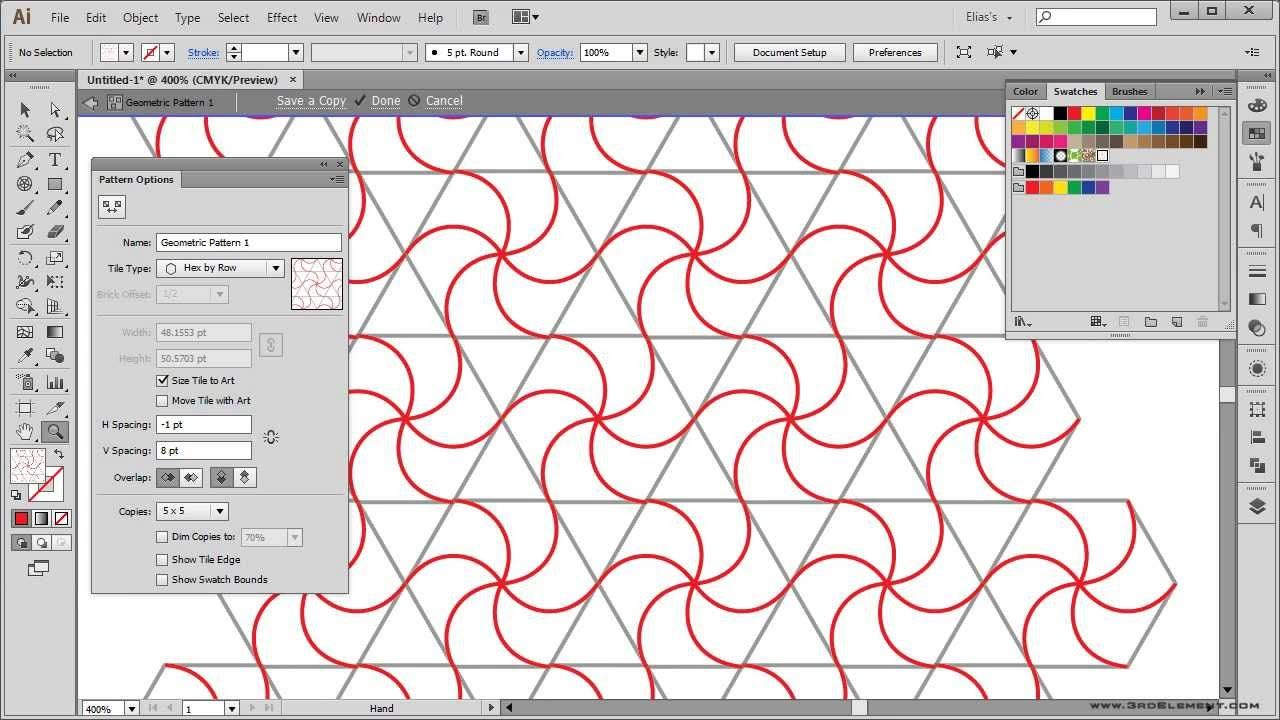 Learn how to create geometric patterns using circles of ...
