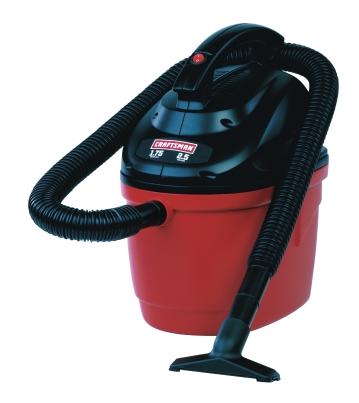 Craftsman 2.5 Gal. 1.75 HP Wet/Dry Vac (00917611) 19.99 P