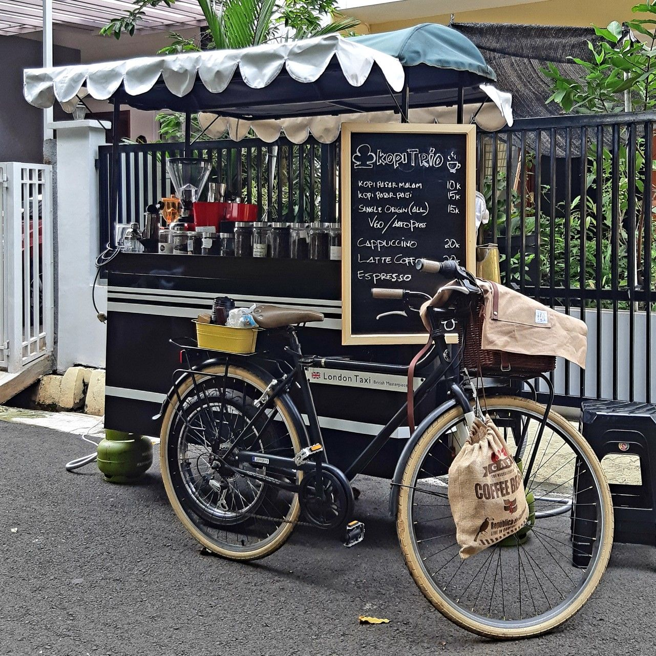 Indonesian Coffee Cart Gerobak Kopi Indonesia Kopi