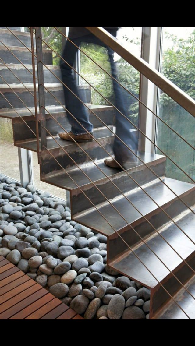 Pin de bryan diez en home inspiration pinterest for Escaleras metalicas homecenter