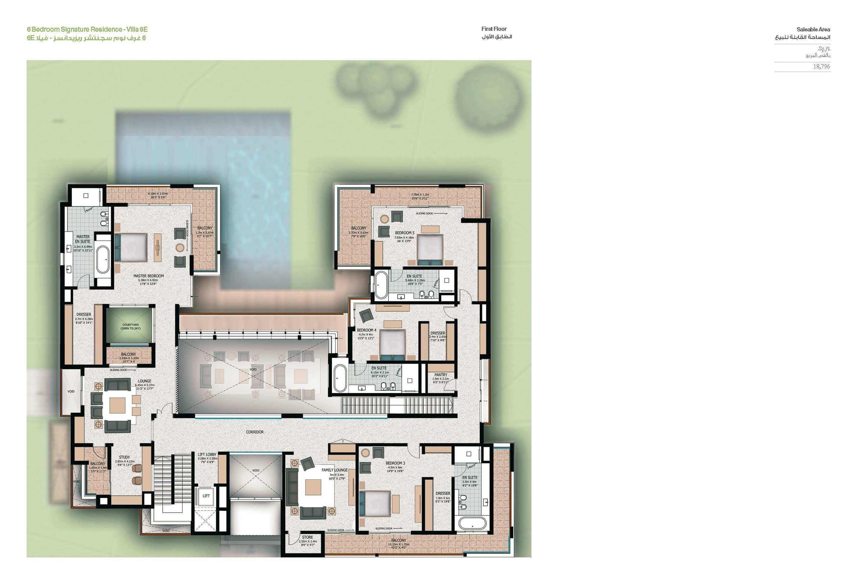 Sobha Hartland Villas Op House Plans House Floor Plans House