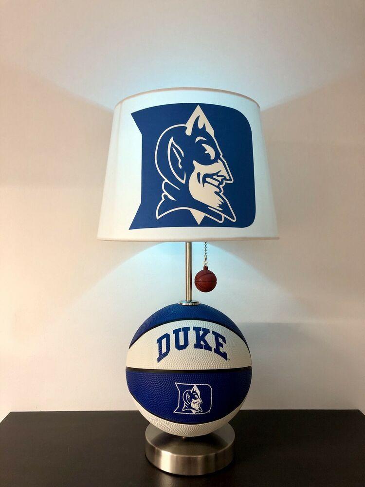 Duke blue devils basketball lamp march madness light ncaa