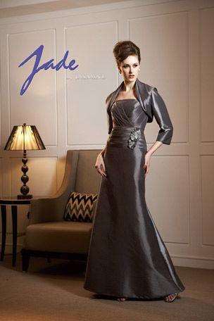 Jade Taffeta Mother of Bride