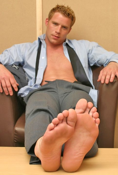 Business meeting foot worship - 3 part 7