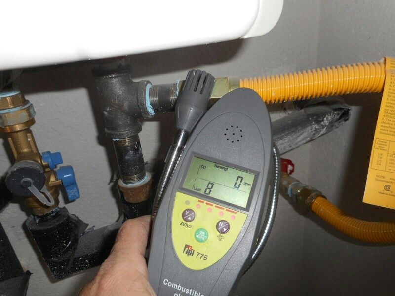 There Was A Good Reason The Gas Was Shutoff To The Water Heater You Always Should Be On Guard For Leaks If You Manufactured Home Home Inspection Water Heater