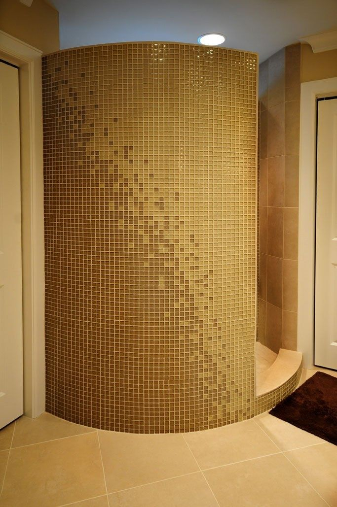 Curved Walls Curved Wall Bathroom Designs
