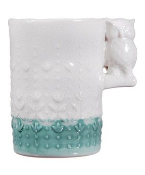 Look what I found on #zulily! Tea & White Owl 16-Oz. Mug by Home Essentials and Beyond #zulilyfinds