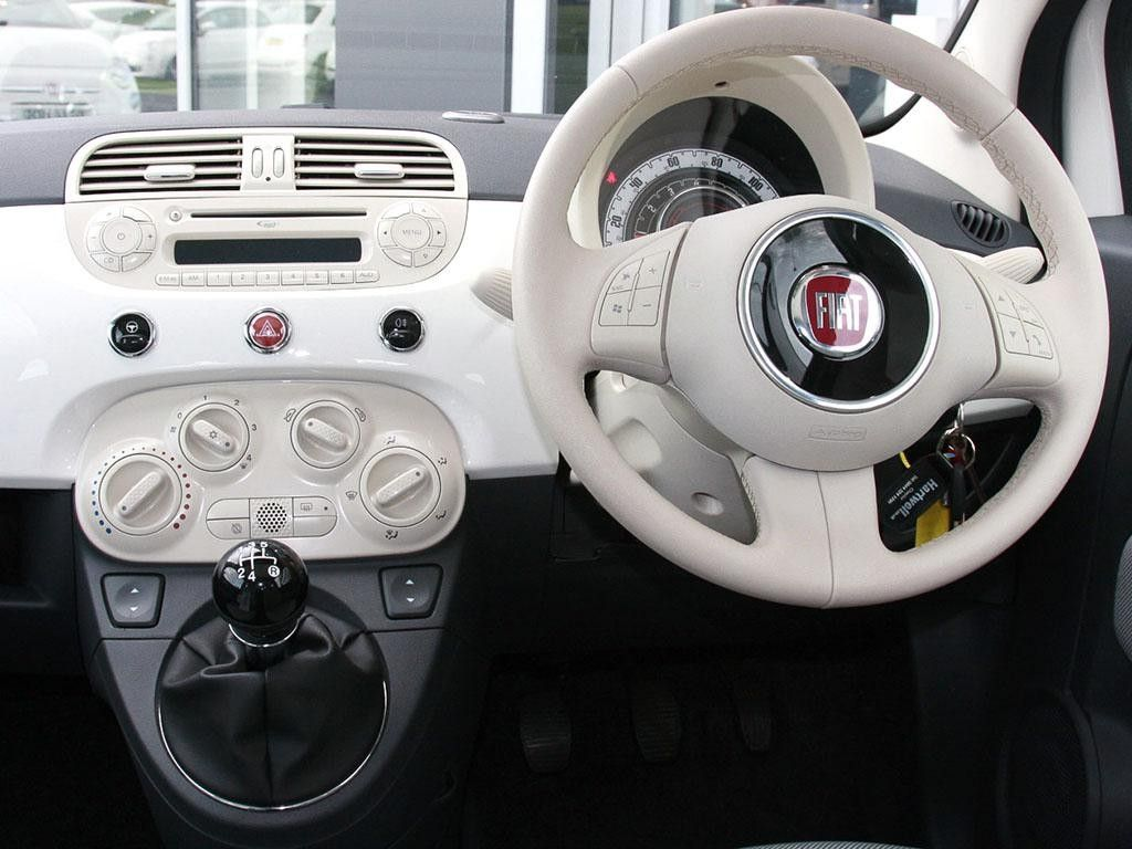 Now That S A Pristine White Interior If Ever We Saw One Fiat