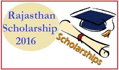 Rajasthan Scholarship Rj Online Scholarship Form