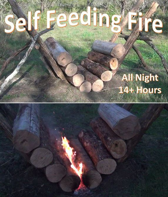 Photo of How to Build the Self Feeding Fire – All Night Fire