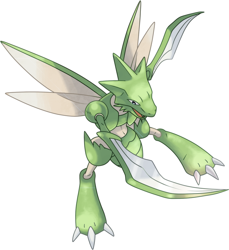Can Scyther LEARN fly - answers.com