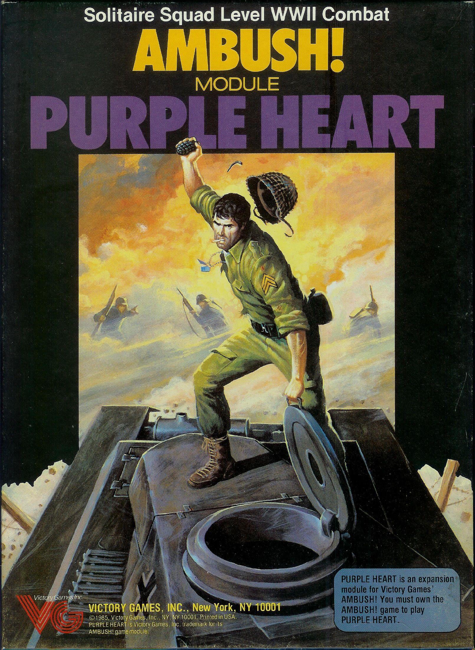 Ambush! Purple Heart Purple, Board games, The expanse