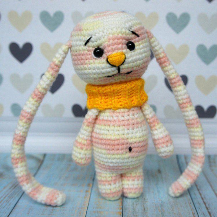 Amigurumi bunny with long ears | Pinterest | Conejo, Patrones ...