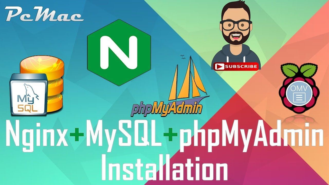 Nginx + MySQL + phpMyAdmin Installation: Openmediavault