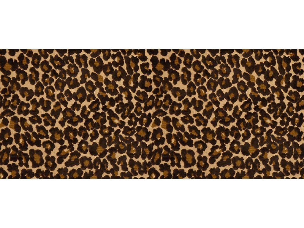 tissu d 39 ameublement imprim peau de b te en coton le leopard by oscar de la renta lee. Black Bedroom Furniture Sets. Home Design Ideas