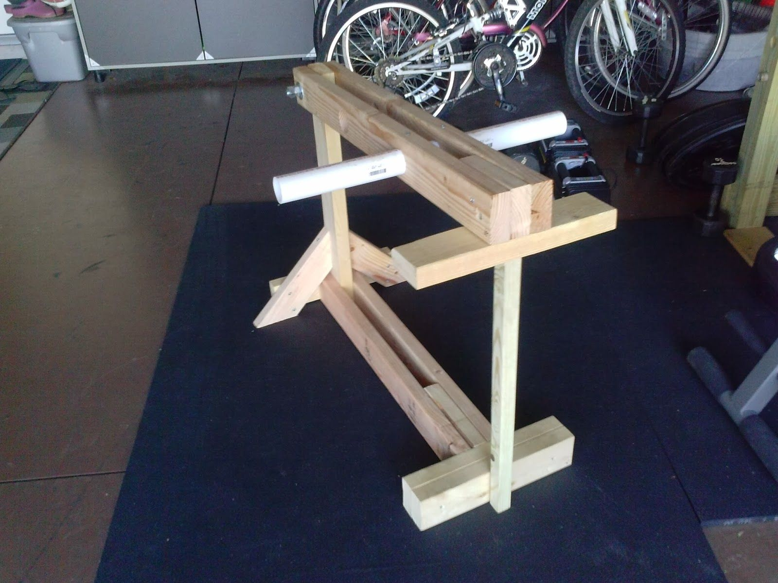 three squat wooden power end own this build of rack equipment fitness your crossfit