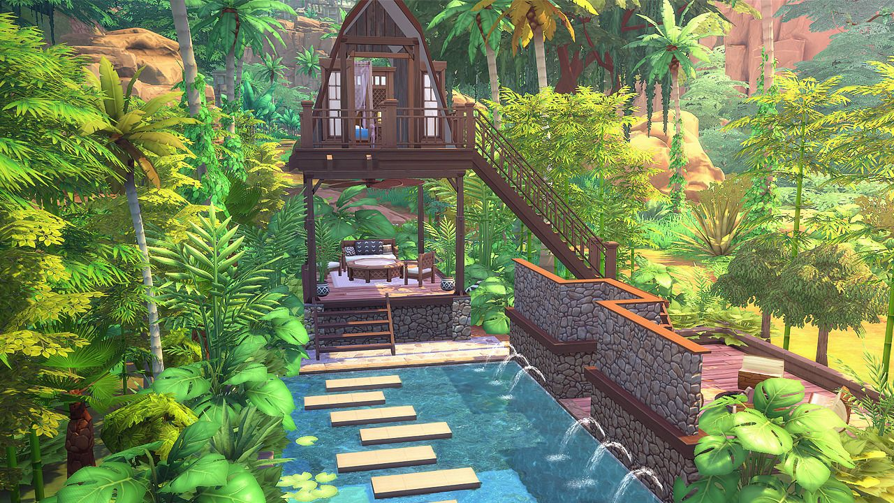 SIMS 4 CC FINDS! | Outdoor retreat, City living, Sims on Cc Outdoor Living id=96049