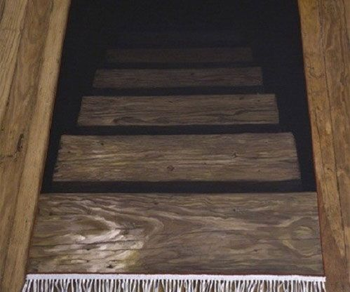Best Stairway To Darkness Rug With Images Cool Rugs Stair 400 x 300