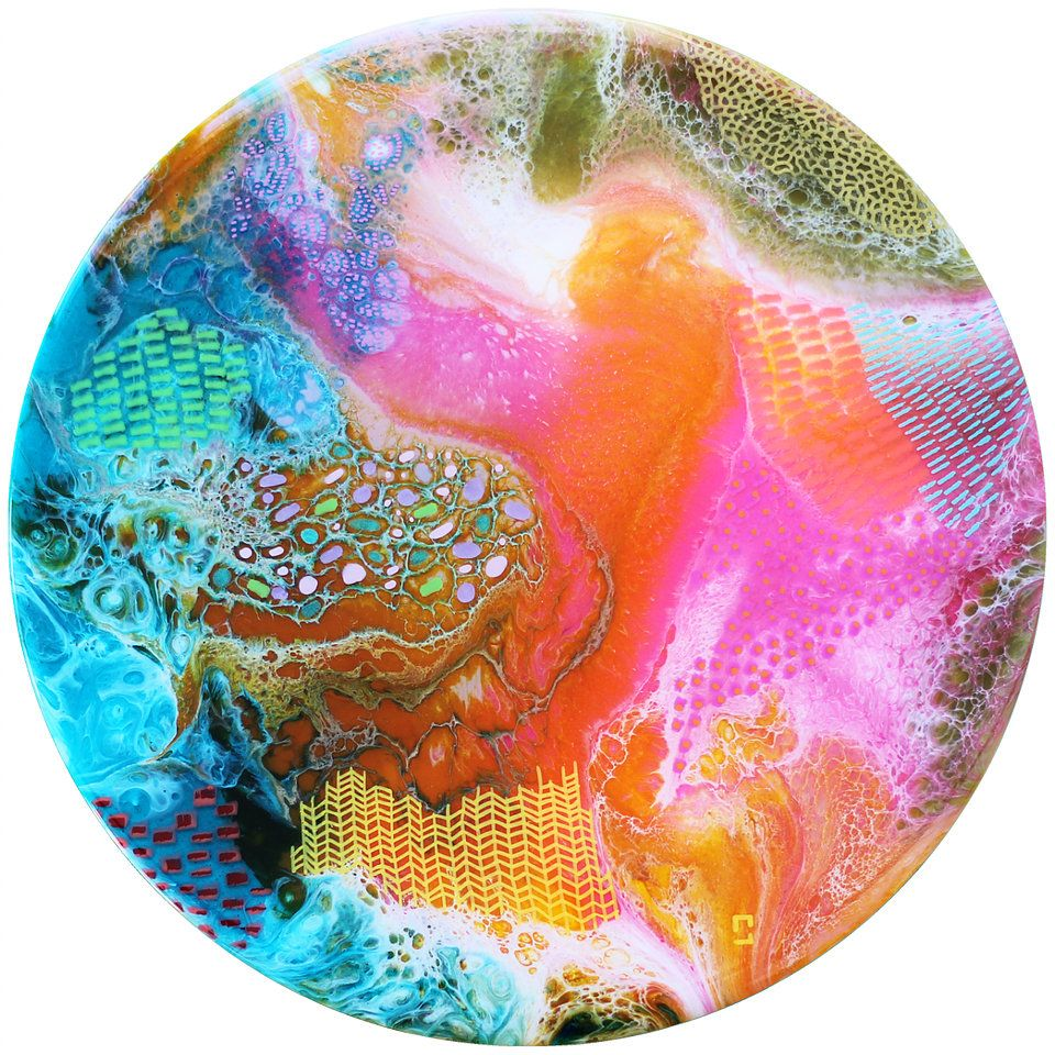Epoxy resin artwork in all shapes and colours commission