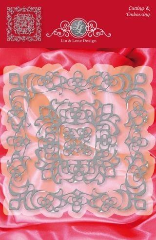 JOY CRAFTS DIES - LIN & LENE - 1201-0068 - FRAME 3 STK         Sett med 3 dies. Diesen kutter og embosser og kan brukes i de fleste kuttemaskiner på markedet.