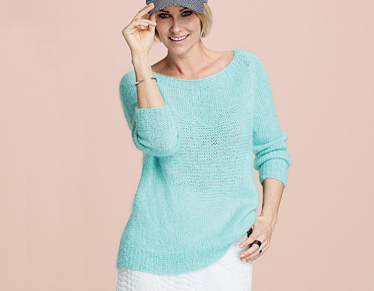 свитер с умкой схема спицами