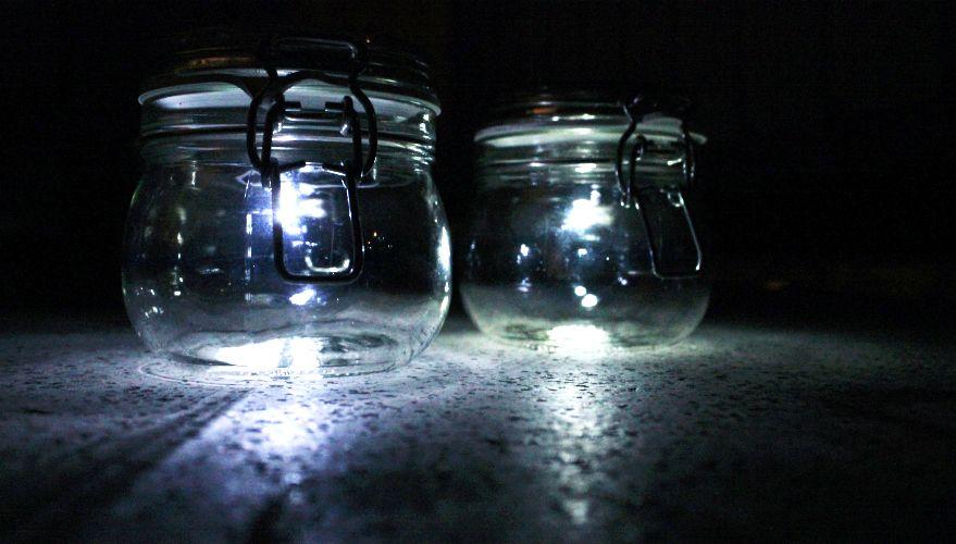 solarleuchte im einmachglas selber bauen anleitung mit video kabel lampen selber machen und. Black Bedroom Furniture Sets. Home Design Ideas